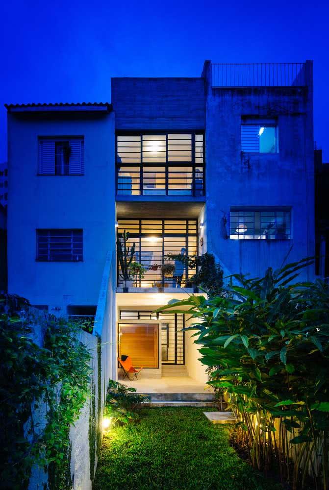 Conjunto de casas moderno