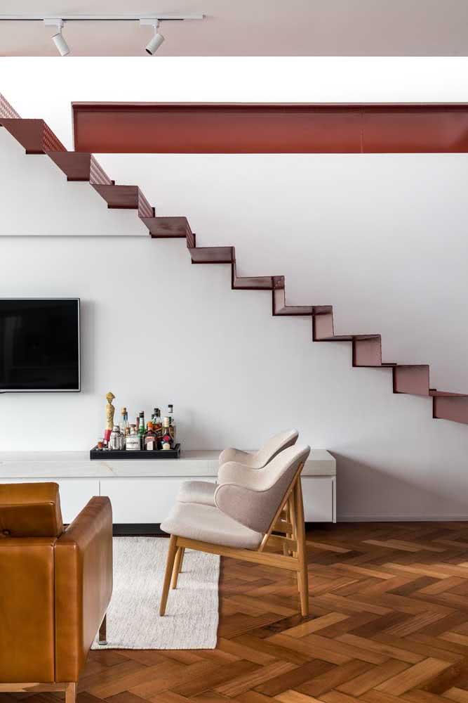 A casa simples por dentro demonstra elegância nas pequenas escolhas