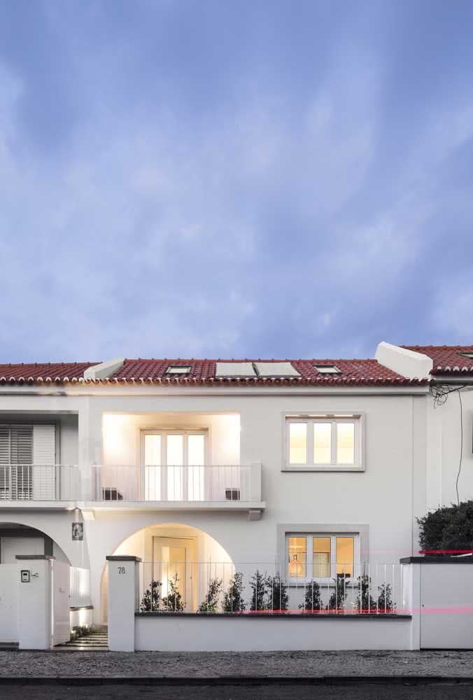 Uma casa clássica para inspirar românticos e sonhadores!