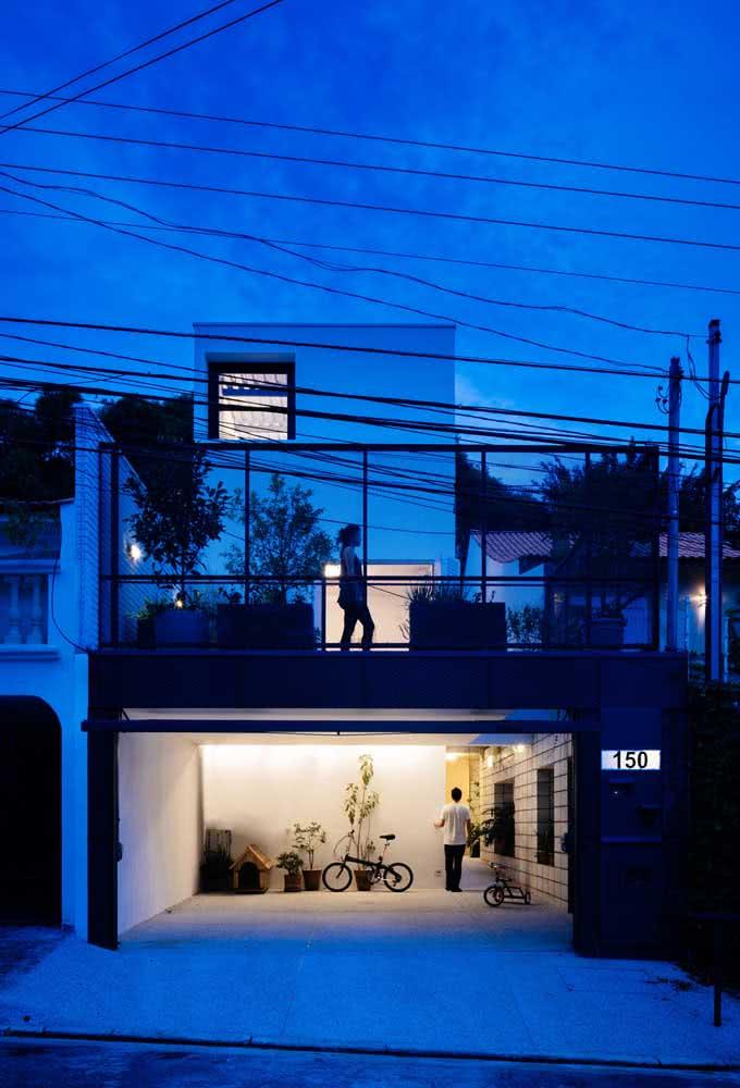Uma casa por fora que tem tudo o que você precisa