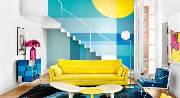 Sofá amarelo: dicas, como combinar, escolher e fotos para se inspirar