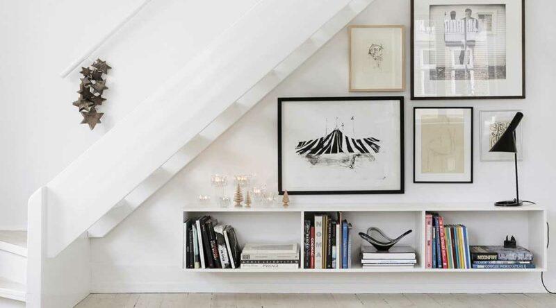 Decoração embaixo da escada: 50 ideias para você se inspirar