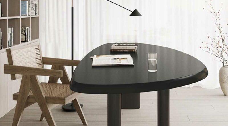 Mesa triangular: 51 modelos lindos para decorar ambientes