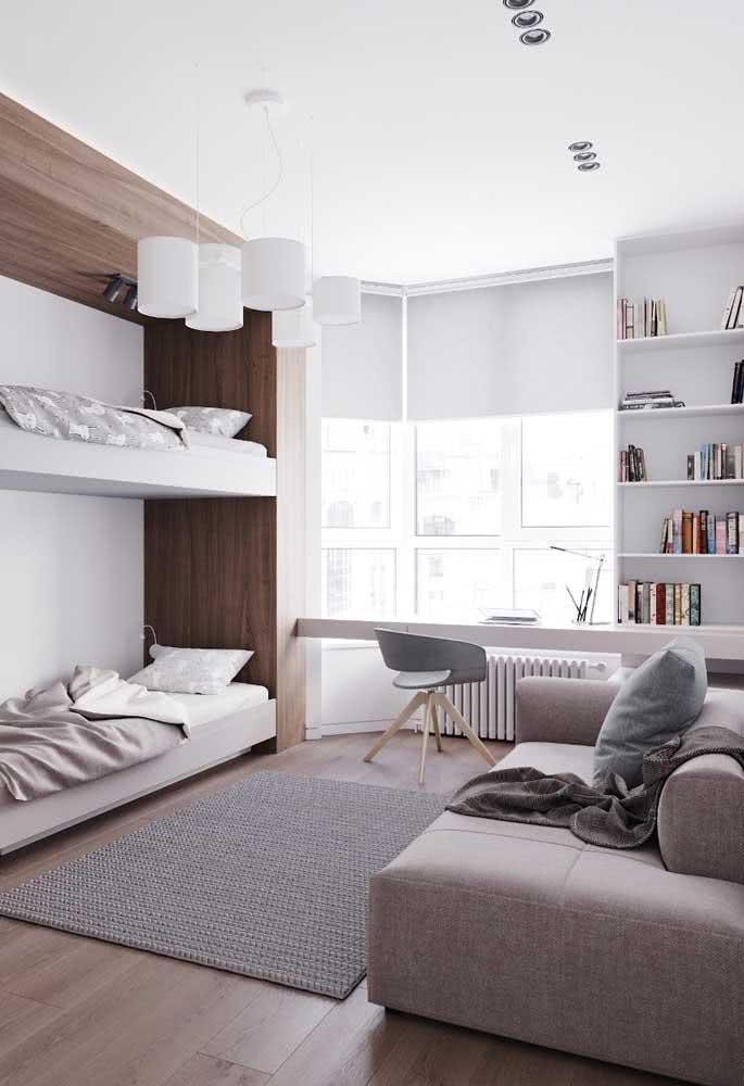 Sofá cama para quarto infantil: os amiguinhos já tem onde dormir