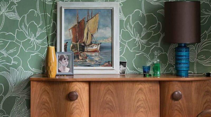 Papel de parede floral: vantagens, como usar, dicas e fotos