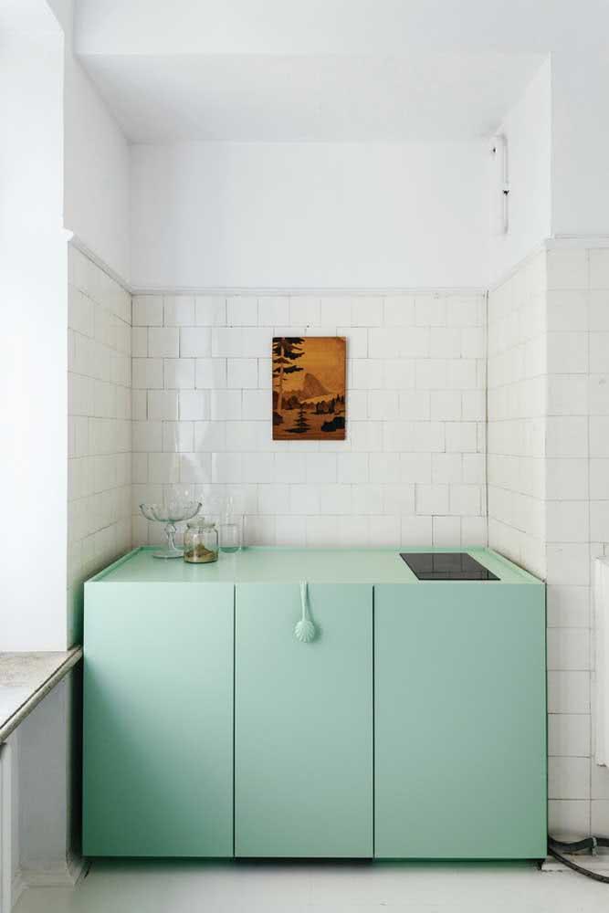 Verde menta para valorizar qualquer cantinho da casa