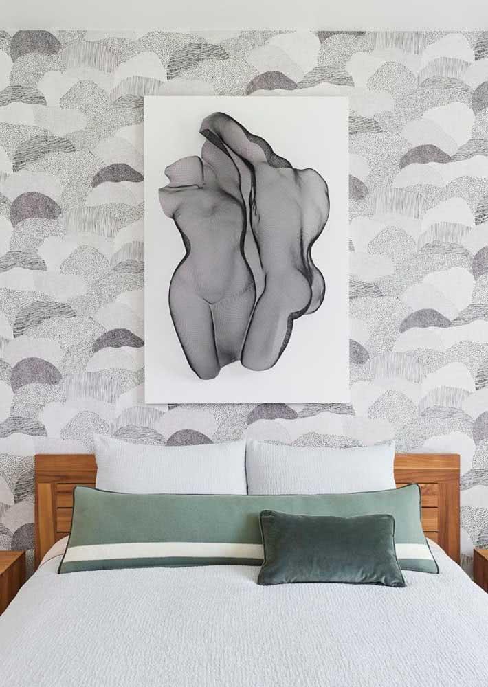 Harmonia entre papel de parede e decoração é fundamental