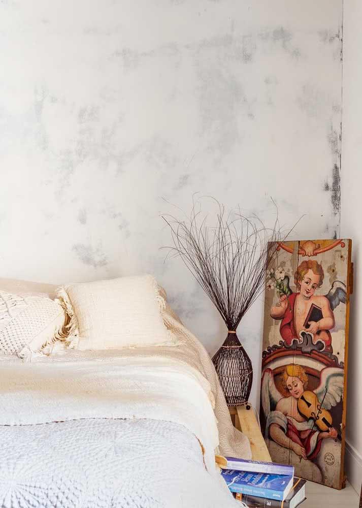 Papel de parede para quarto feminino delicado e moderno