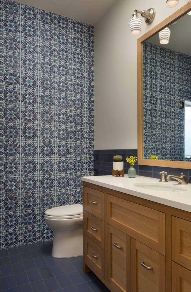Azulejos para o banheiro: charme retrô na decoração