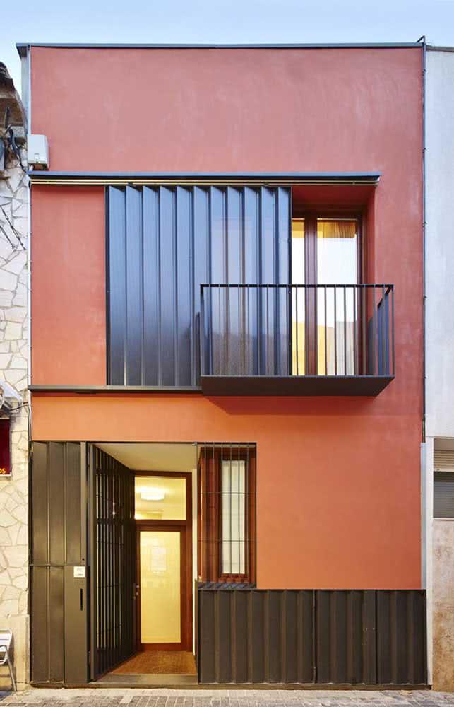 Cores de casas modernas e aconchegantes
