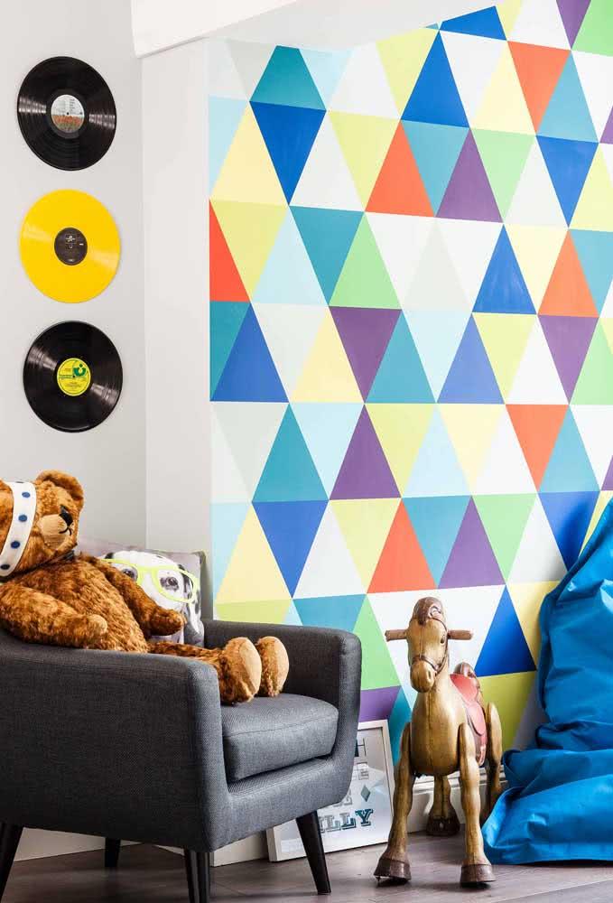 A pintura geométrica é o jeito mais fácil e barato de renovar o visual da sua casa