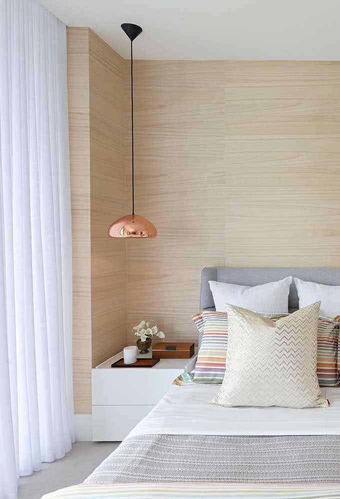 Pendente cobre para quarto: sofisticado e moderno