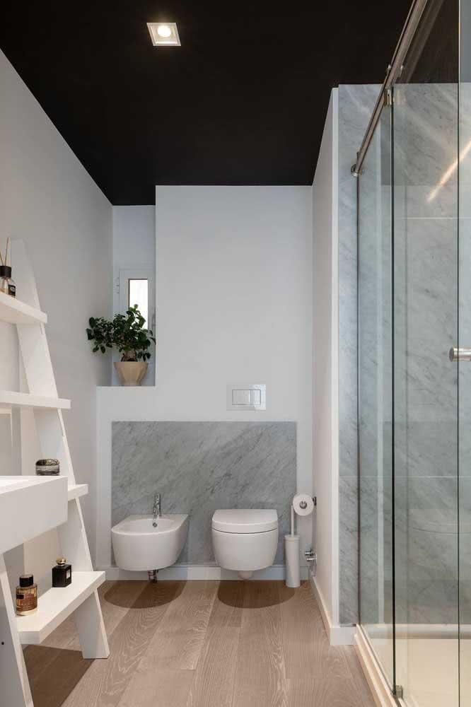 Banheiro moderno com bidê para quebrar os tabus