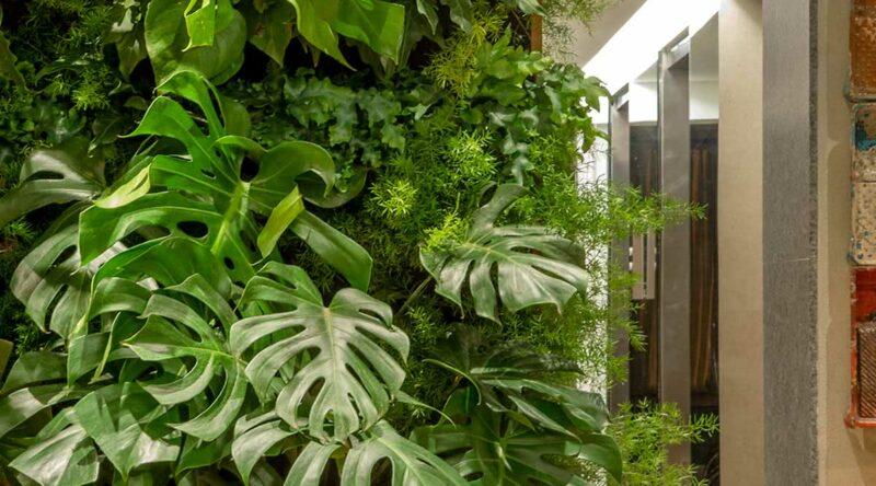 Jardim vertical artificial: como fazer, 50 ideias e fotos