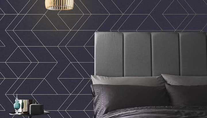 Papel de parede para quarto masculino: 60 fotos e ideias para decorar
