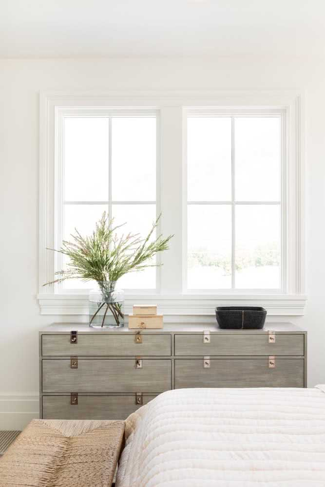 Escolha o material e o estilo do baú que mais lhe agrada e que mais combina com a proposta do seu quarto.