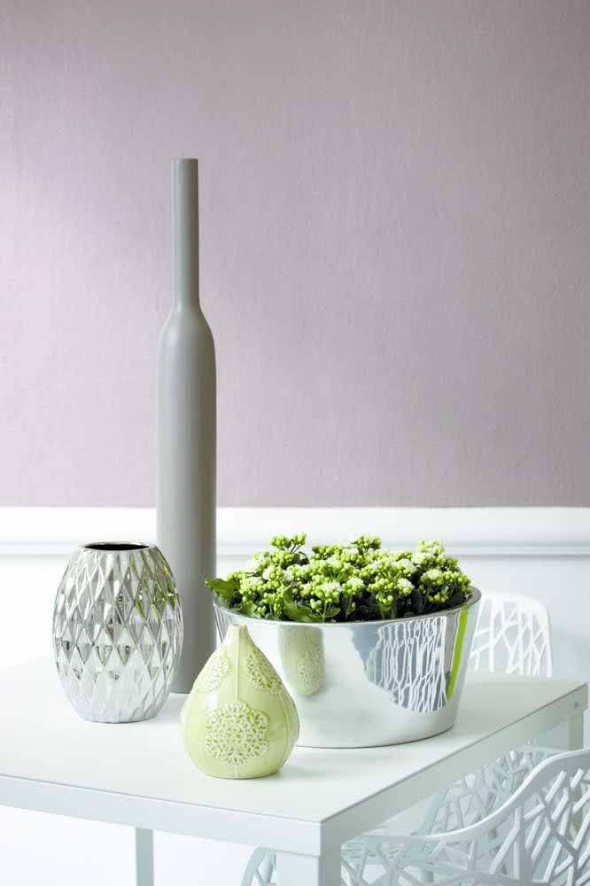 O cachepot faz toda diferença no visual da flor da fortuna kalanchoe