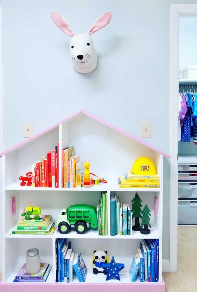 Estante de papelão para brinquedos: fácil e barato de fazer