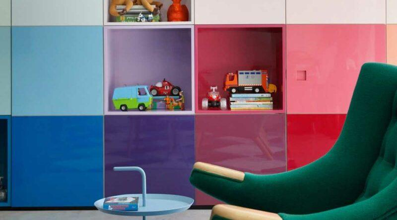 Estante para brinquedos: como escolher, dicas e fotos para se inspirar