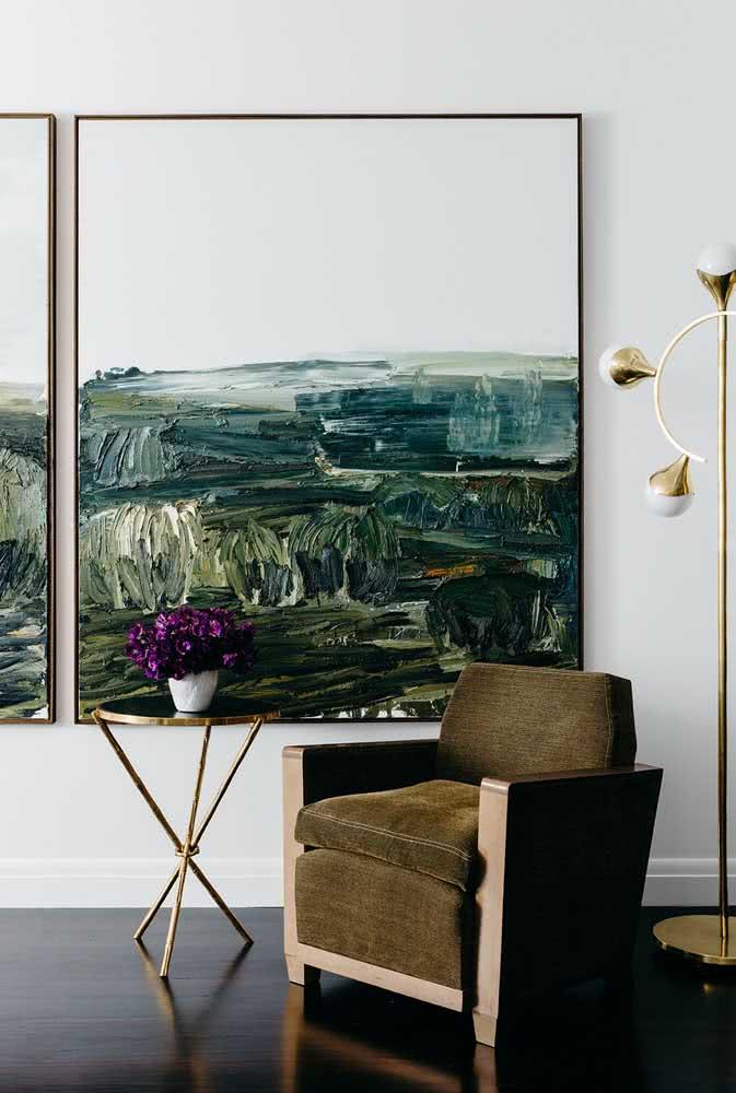 Quadros clássicos para uma decoração minimalista