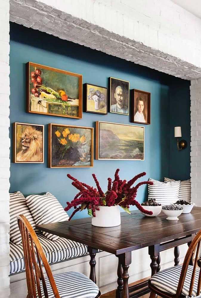 Quadros clássicos para sala de jantar