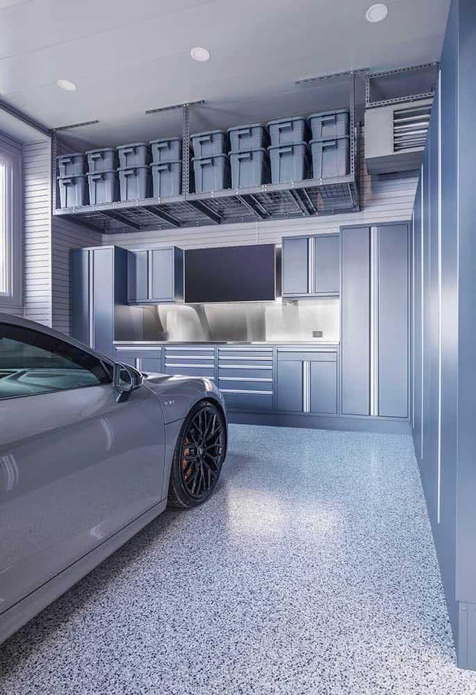 Garagem para curtir (não só para guardar carros)