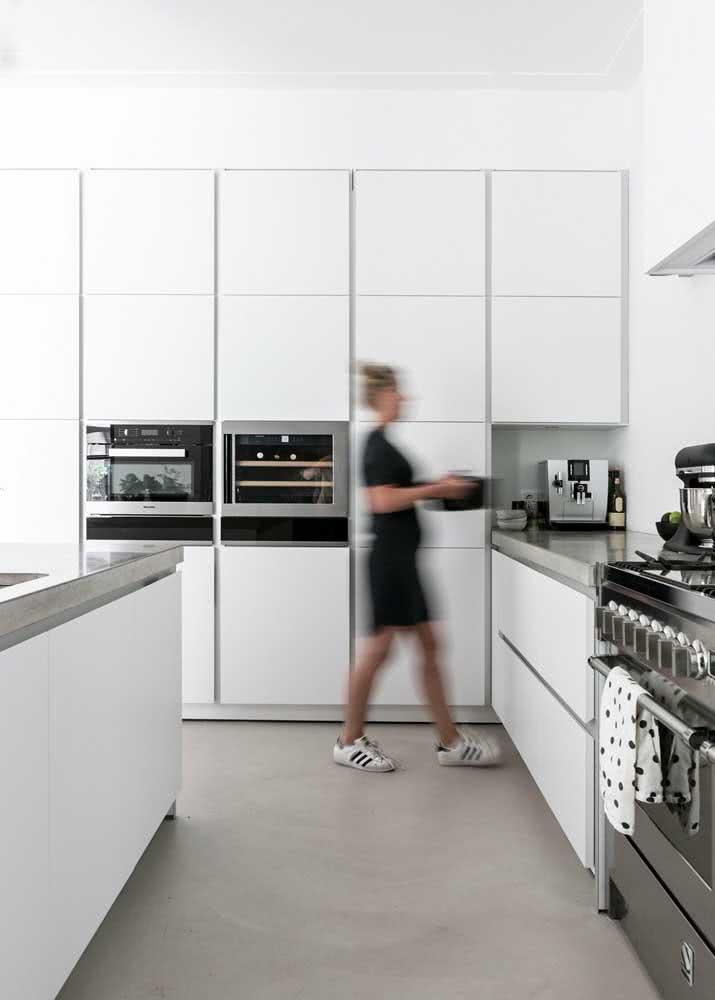 Armário de cozinha modulado: encaixe as peças conforme o seu projeto