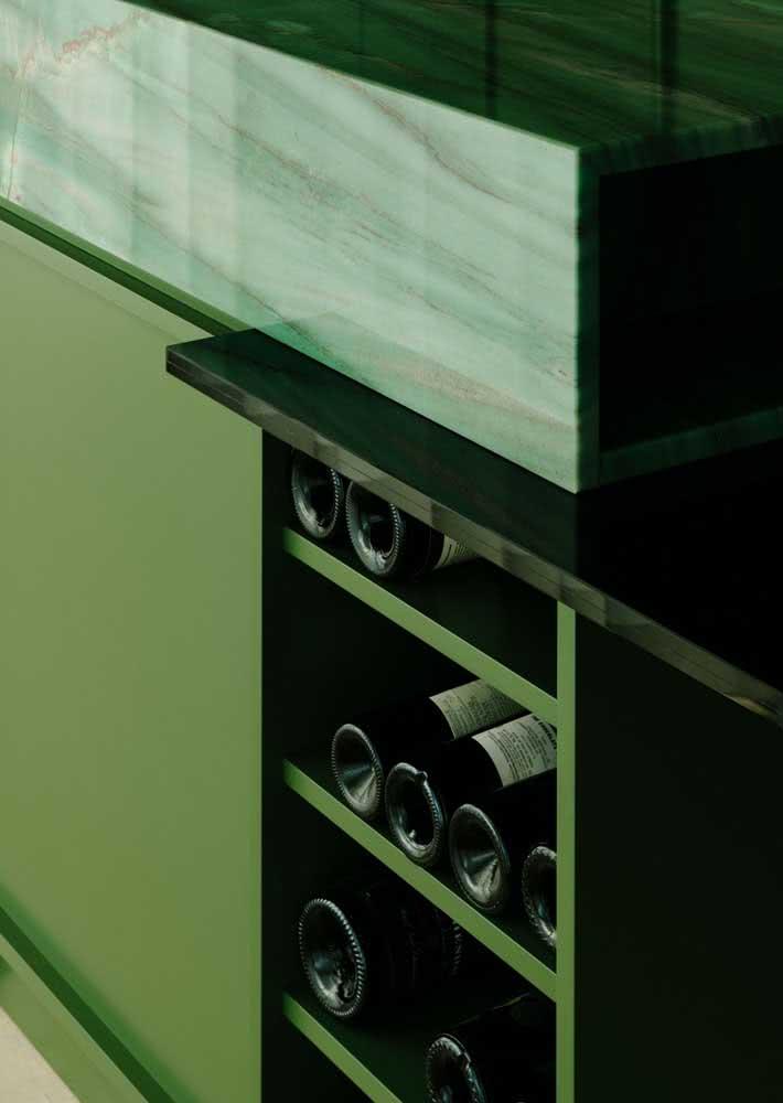 Armário de cozinha planejado tem tudo o que você precisa