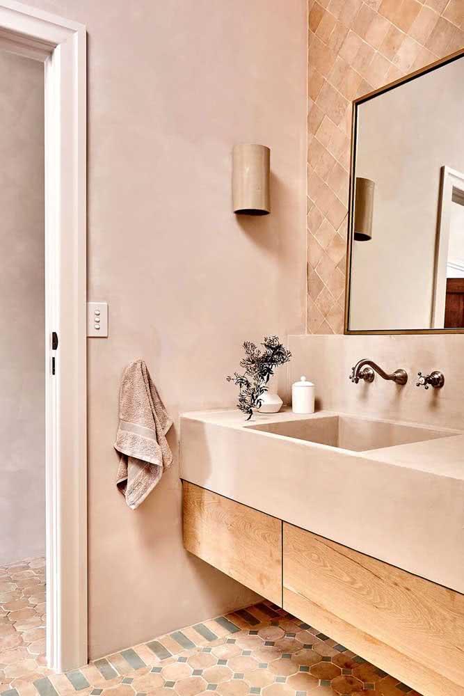 Já pensou em uma bancada de cozinha cor nude? Pois deveria!